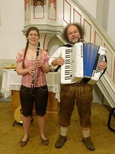 Alte Kapellenschule Eisern-2016 Duo Giebelwälder Weihnacht