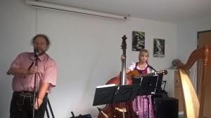Live in Werrdohl mit Luisa Brückner an der Gitarre